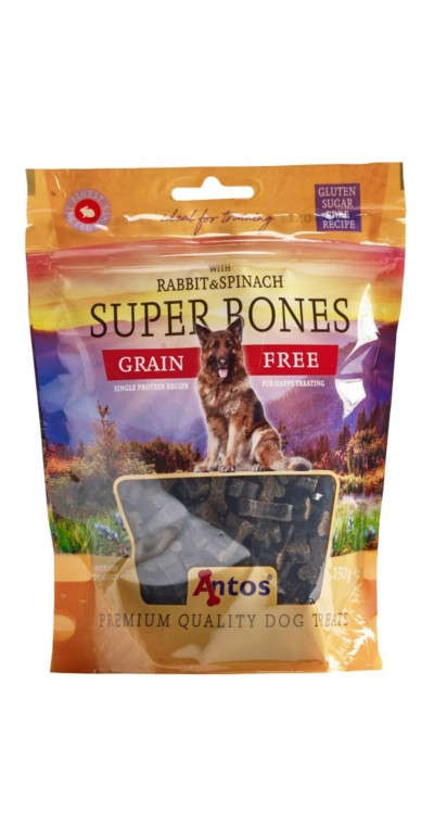Antos Super Bones Coniglio e spinaci